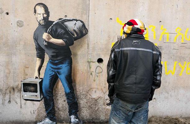 Banksy-a-Calais